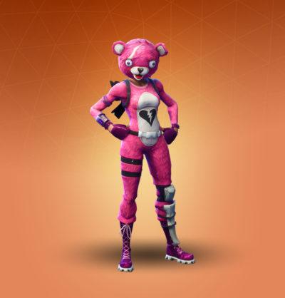 ピンクのクマちゃん