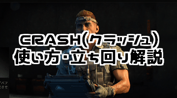 CoD:BO4 CRASH(クラッシュ)