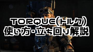 CoD:BO4 TORQUE(トルク)