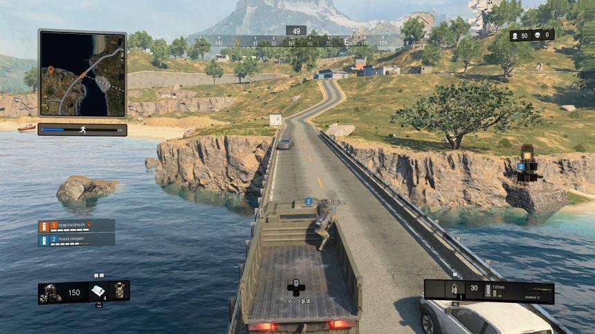 CoD:BO4大型トラック