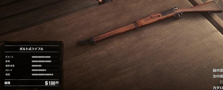 ボルト式ライフル