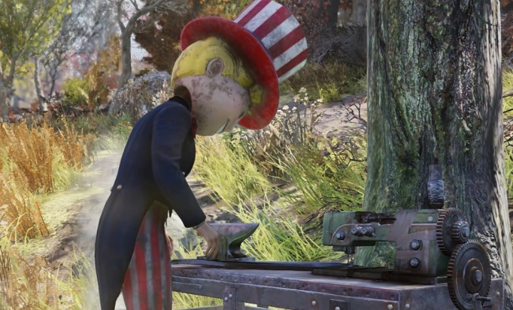 Fallout 76 デラックス版特典Vault Boyマスコットヘッド
