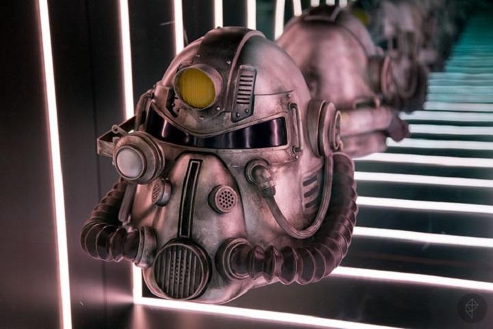 Fallout76 コレクターズエディション T-51パワーアーマーヘルメット