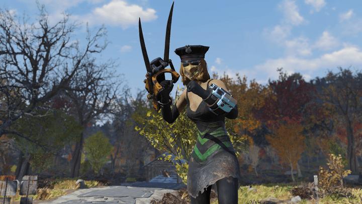 Fallout76 ガントレット