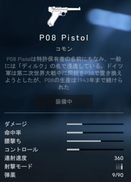 P08 Pistol