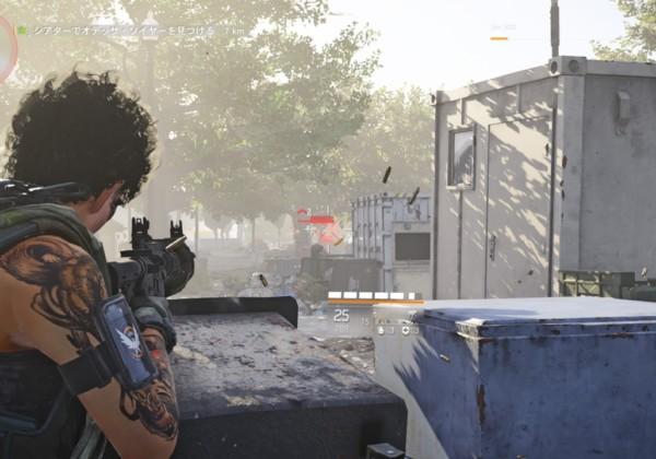 Division2 カバー 射撃