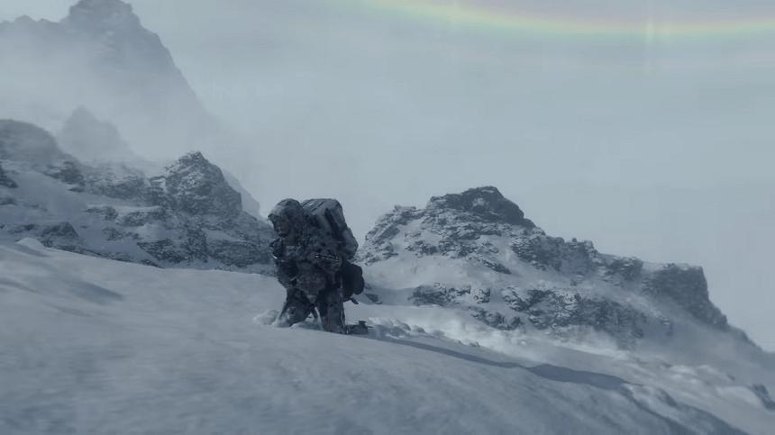 デスストランディング 雪山