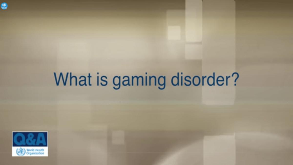 ゲーム障害