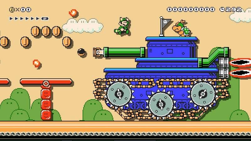 Super Mario maker 2-