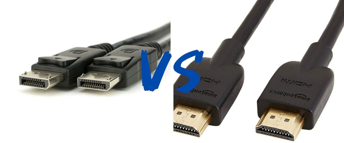 DisplayPort 端子 vs HDMI 端子