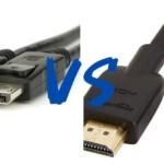 DisplayPort 端子 vs HDMI 端子