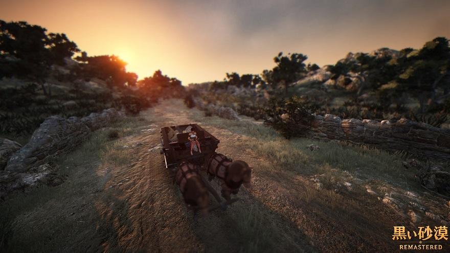 黒い砂漠 馬車