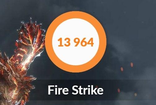 Fire Strike ベンチマーク GCL2060RGF-T