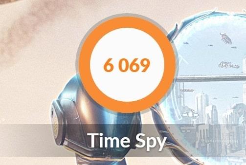 Time Spy ベンチマーク GCL2060RGF-T