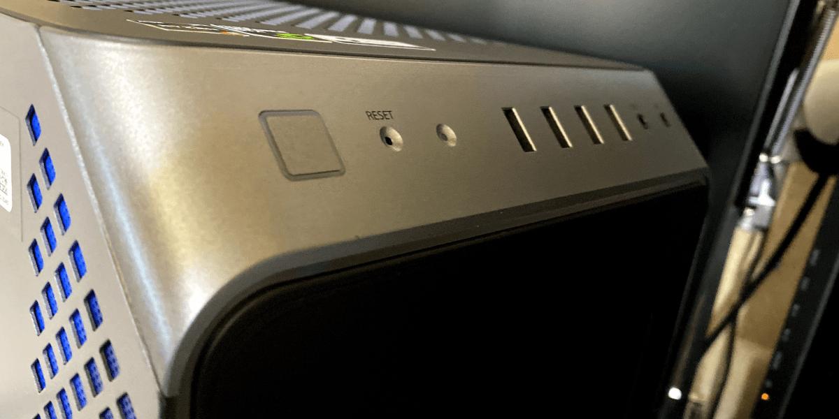 GALLERIA RM5R-G60S コンソールパネル