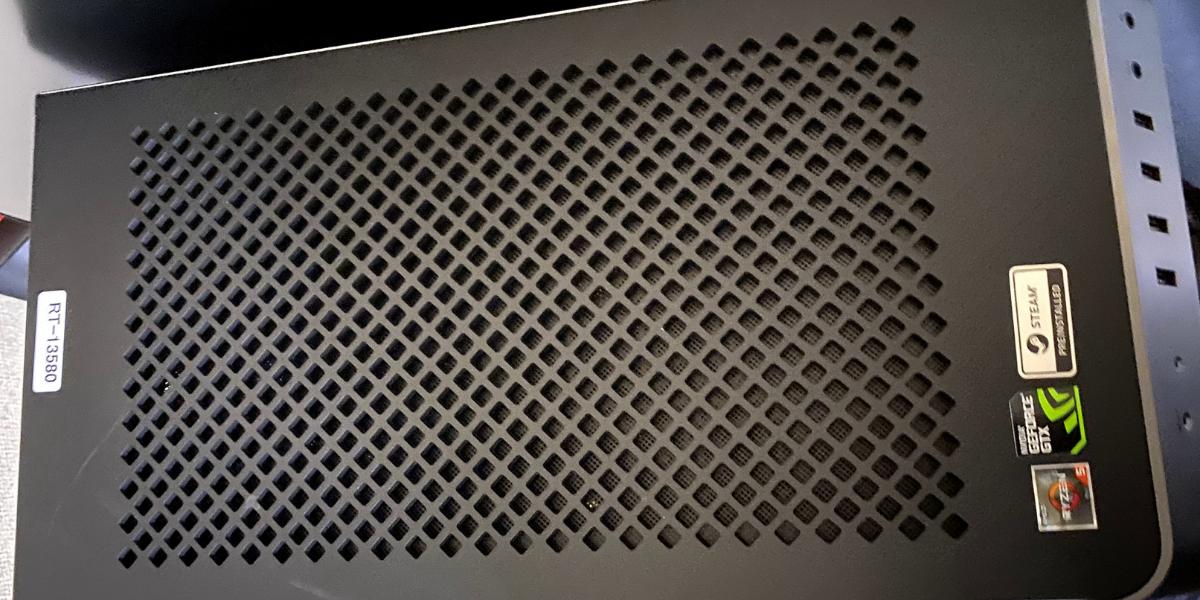 GALLERIA RM5R-G60S 天板画像
