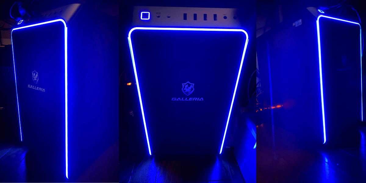GALLERIA RM5R-G60S LEDが美しい本体