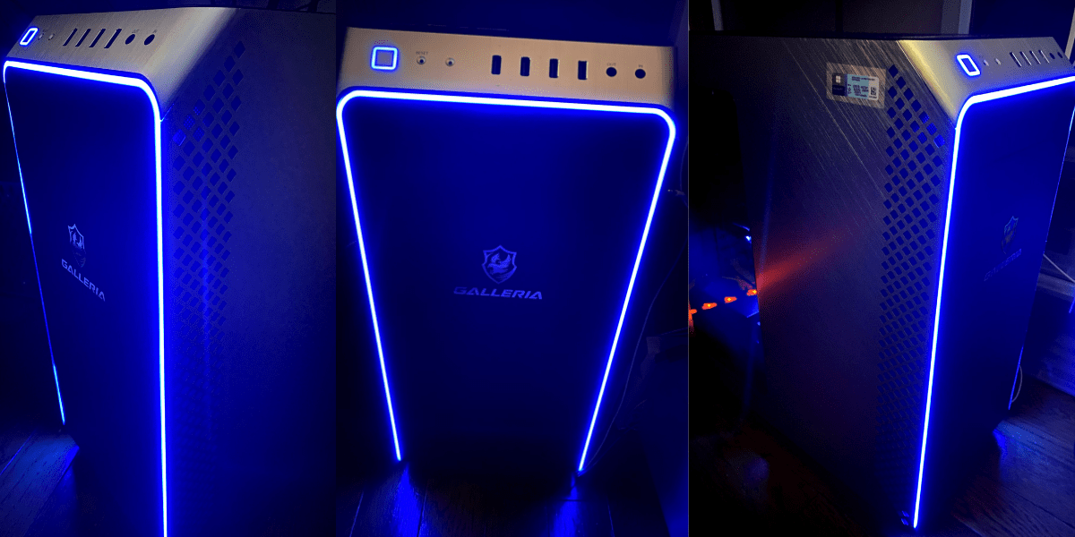 光るデザイン-