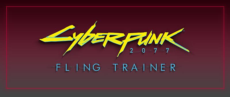 FLiNG Trainer サイバーパンク2077